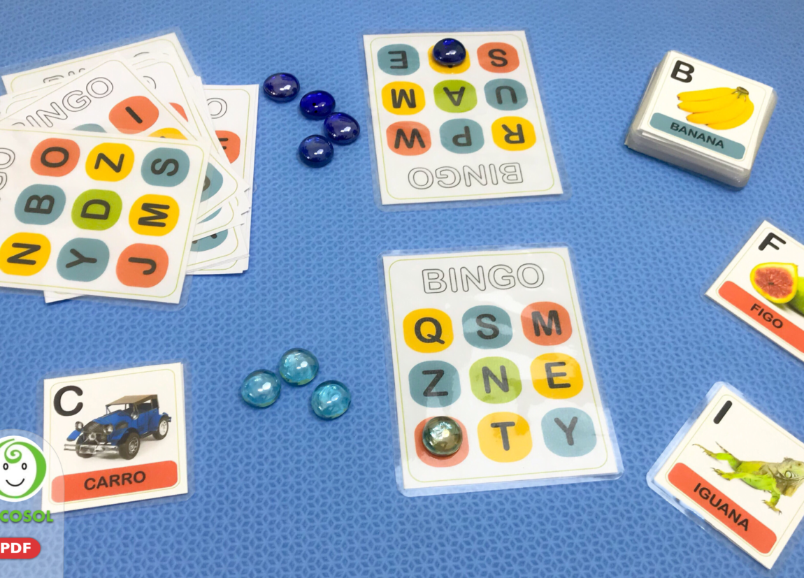 Bingo Fonema x Grafema